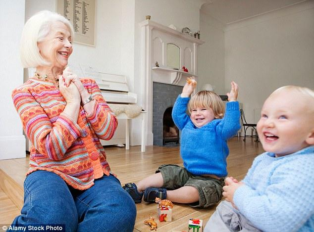 Grandmothers Babysitting Their Grandkids May Help Prevent Dementia & Alzheimer's