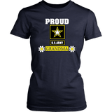 U.S. ARMY Grandma Women's T-Shirt Gifts for Grandmother!