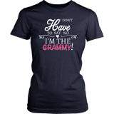 """Say No"" Grammy T-Shirt Gift for Grammy"