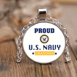 U.S. NAVY Grandma Unique Necklace