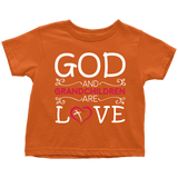 """God and Grandchildren"" Grandkids Infant and Toddler T-Shirts"