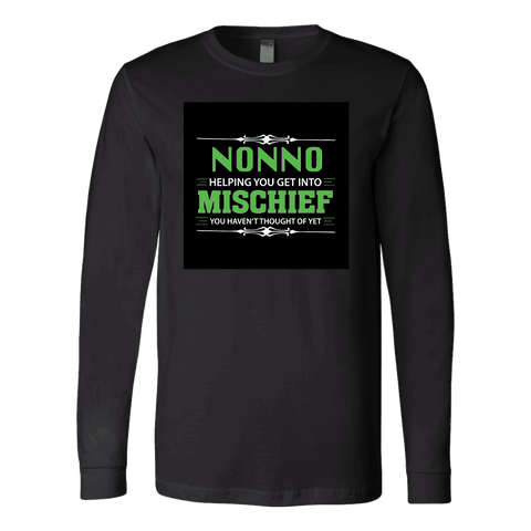 """Mischief"" Long Sleeve Nonno T-Shirt"