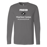 MARINE CORPS Grandpa Long Sleeve T-Shirt gift for Grandfather