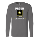 U.S. ARMY Grandpa Long Sleeve T-Shirt Gift for Grandfather
