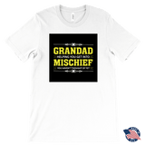"""Mischief"" Grandad Made in USA T-Shirt Gift for Grandad"
