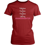 """Fearless"" For Grandmother T-Shirt"