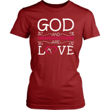 """God and Grandmothers"" Grandma T-Shirts Gifts for Grandmother"