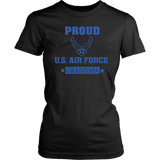 AIR FORCE Grandmother Women's T-Shirt Gifts for Grandparents