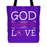 """God and Grandmothers"" Tote Bag"