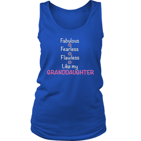 """Fearless"" For Grandmother Tank Top"