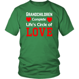 """Circle of Love"" Unisex 100% Cotton T-Shirt"