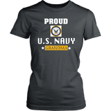 U.S. NAVY Grandma Women's T-Shirt Gift for Grandmother