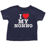 """I Love"" Nonno Infant and Toddler T-Shirts"