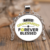 """Forever Blessed"" Unique Necklace"