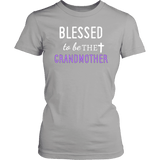 """Blessed"" Grandma T-Shirts Gifts for Grandmother"