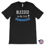 """Blessed"" Grandfather Made in USA Men's T-Shirt"