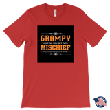 """Mischief"" Grampy Made in USA T-Shirt Gift for Grandfather"