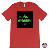 """Mischief"" Made in USA Nonno T-Shirt Gift for Grandfather""Mischief"" Grampy Made in USA T-Shirt Gift for Grandfather"
