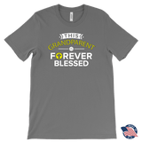 """Forever Blessed"" Grandparents Men's Made in USA T-Shirt"