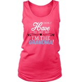 """Say No"" Grandma Tank Top Gift for Grandmother"