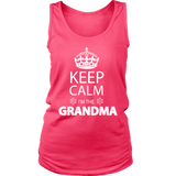 """Keep Calm"" Grandma Women's Tank Top"