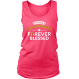 """Forever Blessed"" Grandparents Women's Tank Top Gift for Grandmother"