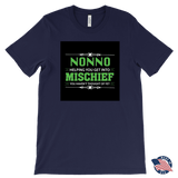 """Mischief"" Made in USA Nonno T-Shirt Gift for Grandfather"