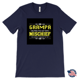 """Mischief"" Made in USA Grampa T-Shirt Gift for Grampa"