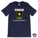 U.S. ARMY Grandpa Made in America T-Shirt Gift for Grandfather
