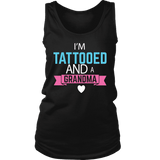 """Tattooed Grandma"" Women's Tank Top"