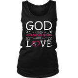 """God and Grandmothers"" Grandma Tank Top Gift for Grandmothers"