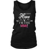 """Say No"" Mimi Tank Top Gift for Mimi"