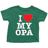 """I Love"" Opa Infant and Toddler"