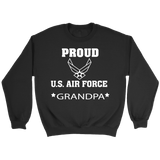AIR FORCE Grandpa Crewneck Sweatshirt Gift for Grandfather