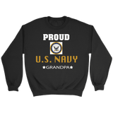 U.S. NAVY Grandpa Crewneck Sweatshirt Gift for Grandfather