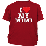 """I Love"" Mimi Youth Shirt"