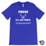 AIR FORCE Grandpa Made in the USA T-Shirt Gifts for Grandparents