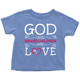 """God and Grandchildren"" Grandkids Infant and Toddler"