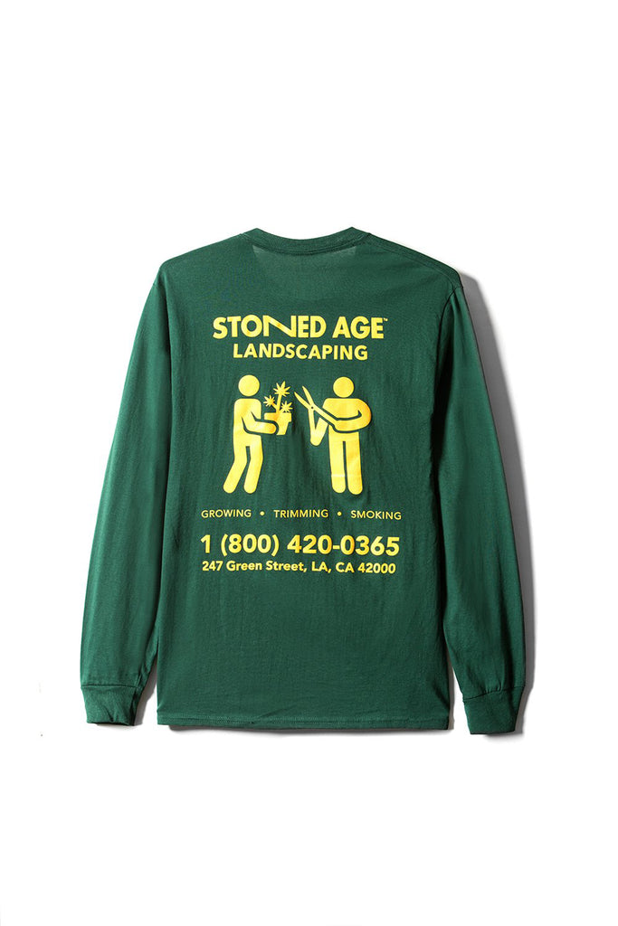 THE COMPANY Long Sleeve Tee Shirt - Green