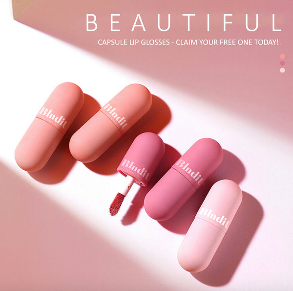 FREE BLNDIT Lipgloss Capsule [Worth £15.99] SOLD OUT