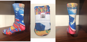 Houston Mural Socks
