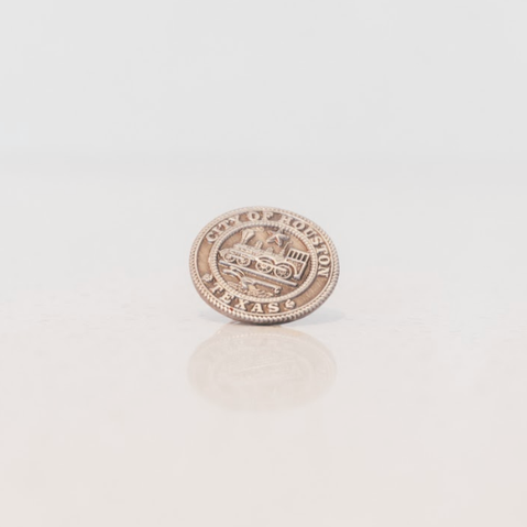 City of Houston Seal Lapel Pin