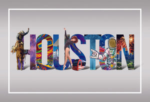 Houston Postcard Pack
