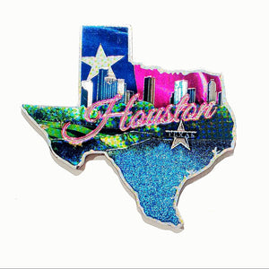 TX State Shaped Magnet