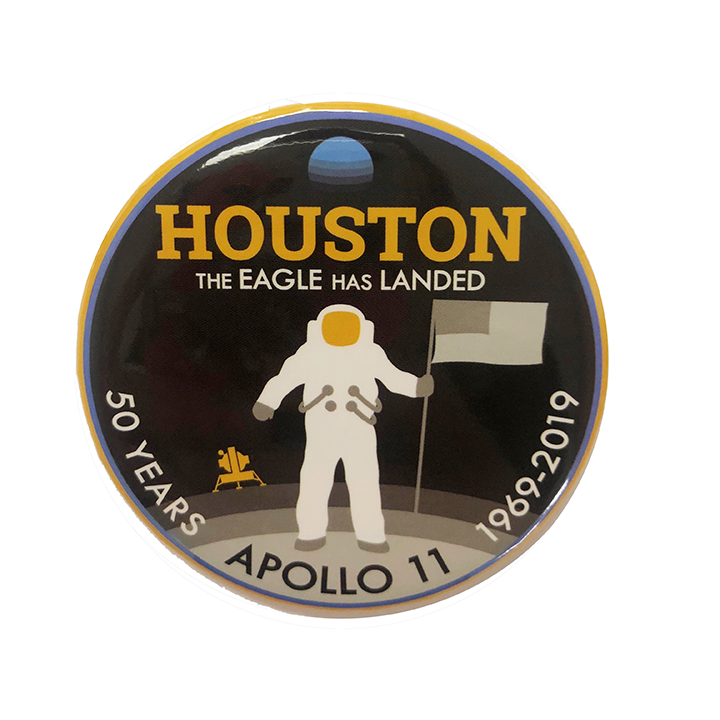 Apollo 11 50th Anniversary Commemorative Button