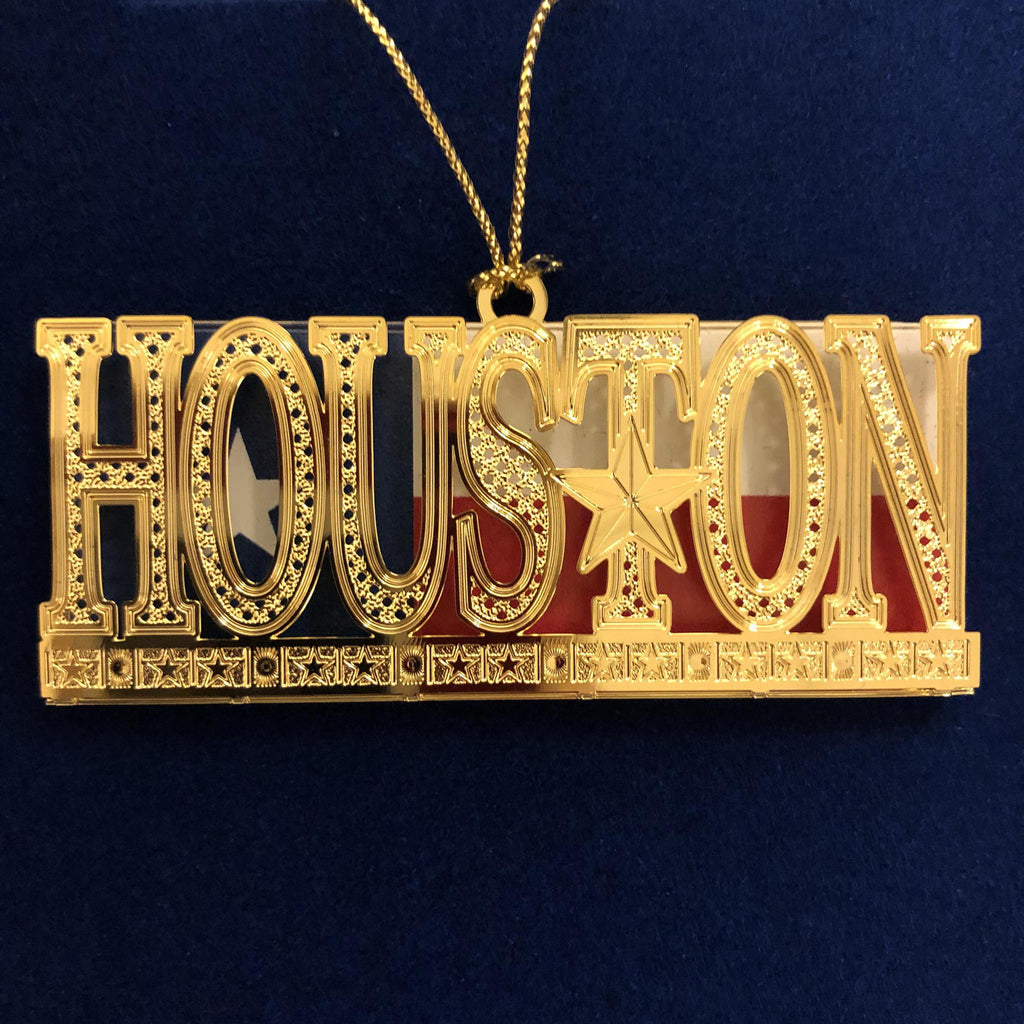 Houston Ornament