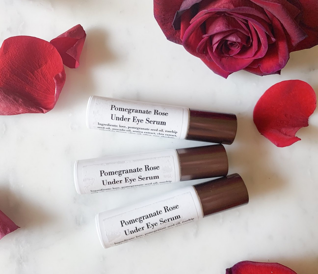 Pomegranate Rose Eye Serum Roller