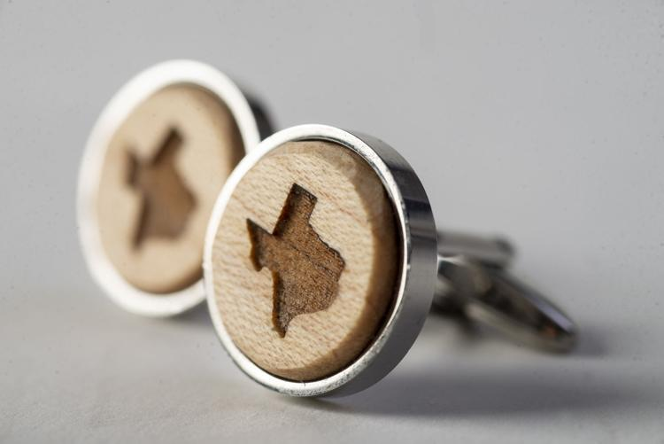 Texas Wood Cufflinks