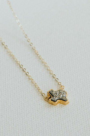Texas Druzy Necklace