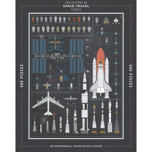 History of Space Travel Puzzle